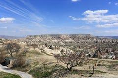 Citt? sotterranea in Turchia fotografia stock