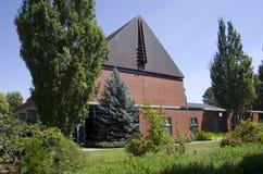 Città universitaria dell'istituto universitario dell'Oregon Fotografie Stock Libere da Diritti