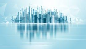 Città urbana del paesaggio Fotografie Stock