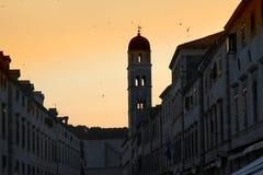Città vecchia Dubrovnik Fotografia Stock