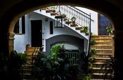 Città Vecchia Palma de Mallorca Fotografia Stock