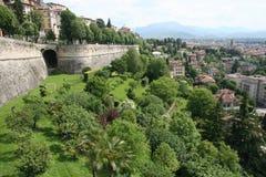 citta Италия Ломбардия alta bergamo Стоковое Изображение RF