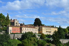 Citta Alta, Bergamo (Old Town) Royalty Free Stock Photography