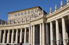 CittA?del Vaticano,圣彼得罗 免版税库存图片