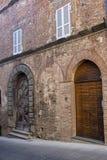 Citta della Pieve,佩鲁贾,意大利,历史的城市 免版税图库摄影