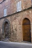Citta della Pieve, Perugia, Italien, historisk stad Royaltyfri Fotografi