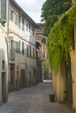 Citta di Castello (翁布里亚,意大利) 库存照片