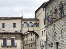 Citta di Castello (翁布里亚,意大利) 库存图片