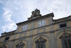 View of Palazzo del Podesta stock photo