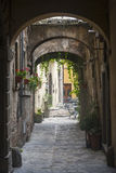 Citta di Castello (Ombrie, Italie) Photographie stock libre de droits