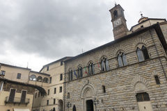 Citta di Castello (Ombrie, Italie) Photographie stock