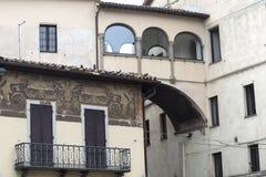 Citta di Castello (Umbria, Italien) Royaltyfria Foton