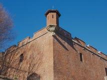 Cittadella à Turin Photos libres de droits
