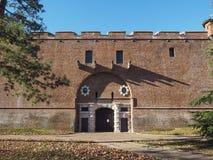 Cittadella à Turin Images libres de droits