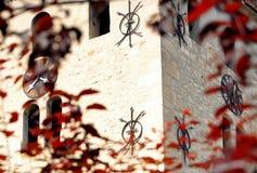 Cittadella in Aiud Fotografia Stock