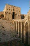 Cittadella di Aleppo_Syria Fotografie Stock Libere da Diritti