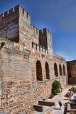Cittadella di Alhambra Immagini Stock
