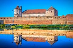 Cittadella di Fagaras, la Transilvania, Romania, Europa fotografia stock