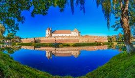 Cittadella di Fagaras, la Transilvania, Romania, Europa immagini stock libere da diritti