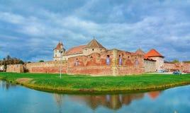 Cittadella di Fagaras, la Transilvania, Romania, Europa immagine stock libera da diritti