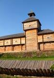 Cittadella di legno Fotografia Stock