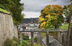 Cittadella di Namur Vallonia belgium fotografia stock