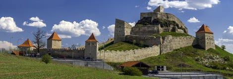 Cittadella di Rupea nella Transilvania Romania Fotografie Stock Libere da Diritti