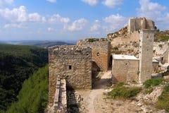 Cittadella di Salah Ed-Din, Saladin Castle, Siria fotografia stock libera da diritti