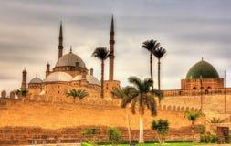 Cittadella di Sultan Saladin al-Ayyuby a Il Cairo fotografie stock libere da diritti
