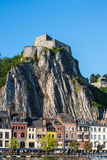 Cittadella fortificata in Dinant, Belgio Fotografie Stock