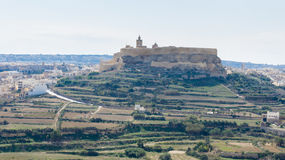 The Cittadella Gozo Stock Photos