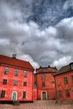 Cittadella HDR di Landskrona Fotografie Stock Libere da Diritti