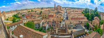 Cittadella Italien arkivbild