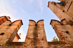 Cittadella Padua Italia imagen de archivo