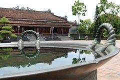 Cittadella, palazzo dell'imperatore nella tonalità, Vietnam Fotografia Stock Libera da Diritti