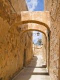 Cittadella a Rabat, Gozo Immagine Stock