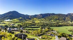Cittadella Vauban nei les Alpes di Seyne nella regione francese Provenza Fotografia Stock Libera da Diritti
