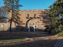 Cittadella w Turyn Zdjęcie Stock