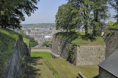 Cittadelle ramparts, namur Royalty Free Stock Photos