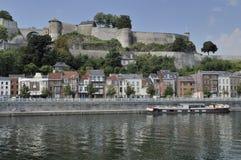 Cittadelle y batería de la Mosa, Namur Imagen de archivo libre de regalías