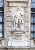 Cittadini viennesi muniti o cittadino munito di Vienna da Richard Kauffungen, da Neue Burg o da New Castle, Vienna, Austria fotografie stock libere da diritti