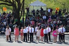 2016 cittadino Cherry Blossom Parade in Washington DC Fotografia Stock Libera da Diritti