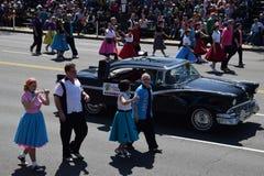 2016 cittadino Cherry Blossom Parade in Washington DC Fotografia Stock
