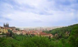 City, landscape, prague Royalty Free Stock Photos