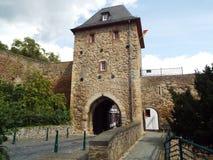 City gate. Bad Munster Eifel, Germany 2014 Stock Images