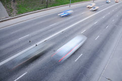 City roads Stock Photos