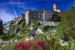 The city of Èze, France Royalty Free Stock Image