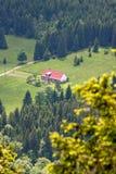 City landscape Szklarska Poreba - Poland.  Royalty Free Stock Images