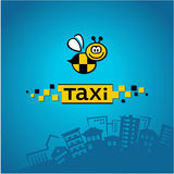 City ​​taxi logo Royalty Free Stock Photos