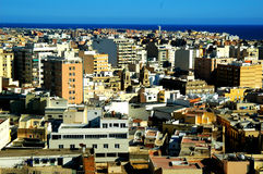 City. Scape of Almeria in Spain Stock Photography